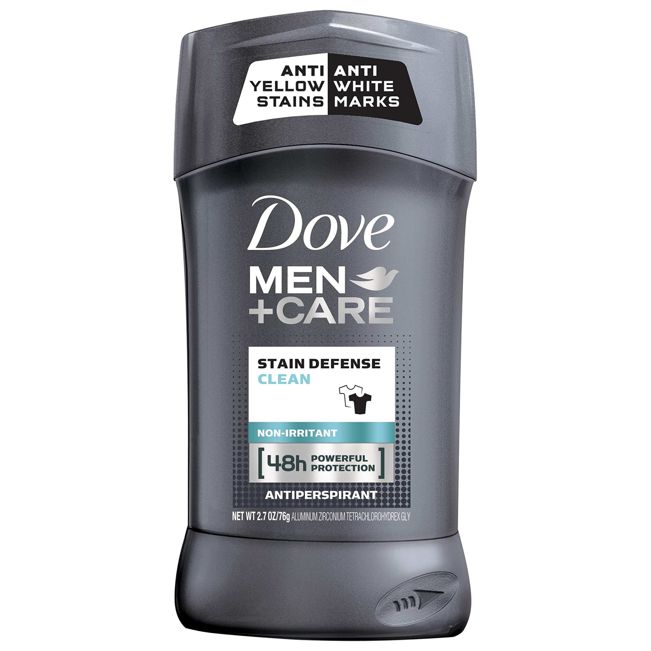 Dove Men+Care No White Marks Antiperspirant Stick Invisible - 2.7oz Clear
