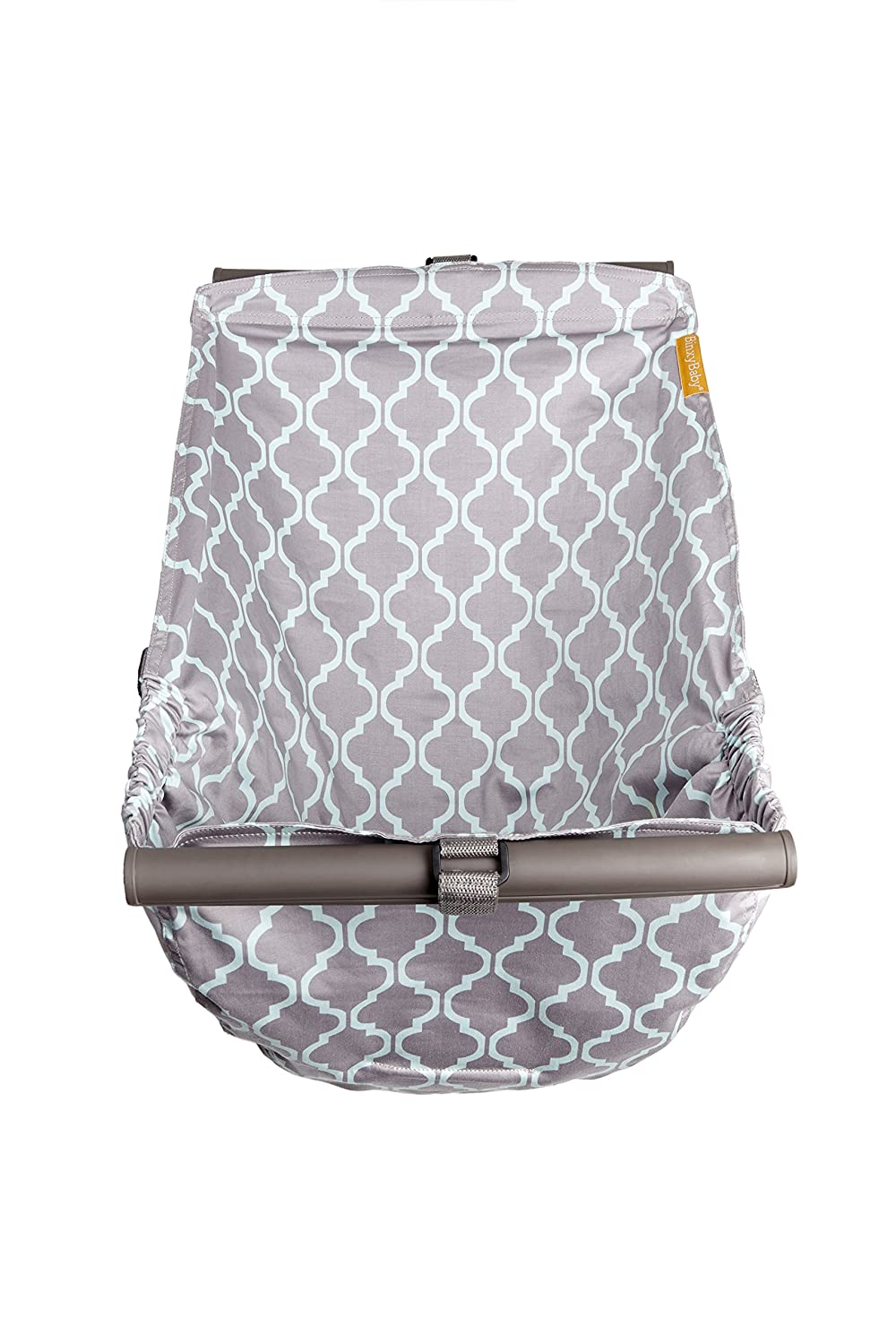 BINXY BABY Shopping Cart Hammock   The Original   Holds All Car Seat Models   Ergonomic Infant Carrier + Positioner : Baby