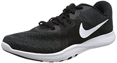 5498de59749a Nike Womens WMNS Flex TR 8 Wide Black White Anthracite Size 5
