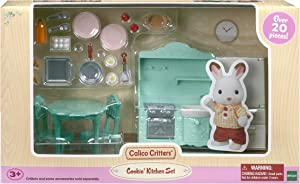 Calico Critters Cookin' Kitchen Set, Dollhouse Furniture Set