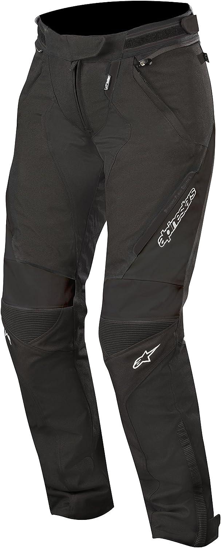 Schwarz//Weiss//Fuchsia Alpinestars Motorradhose Stella Raider Drystar Pants Black White Fuchsia L