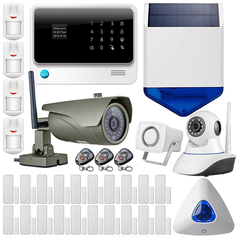 GOLDEN SECURITY - G90B Alarme Maison - 2.4G WIFI GSM GPRS Sans Fil  Cambrioleur Système
