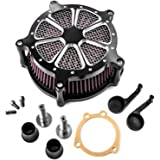 CNC Air Cleaner Kit Turbine Edge Cut Air Intake For Harley Davidson Sportster XL1200 XL883 Iron 883 Forty Eight
