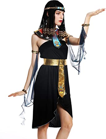 dressmeup - W-0264-M/L Disfraz Mujer Feminino Halloween Cleopatra ...