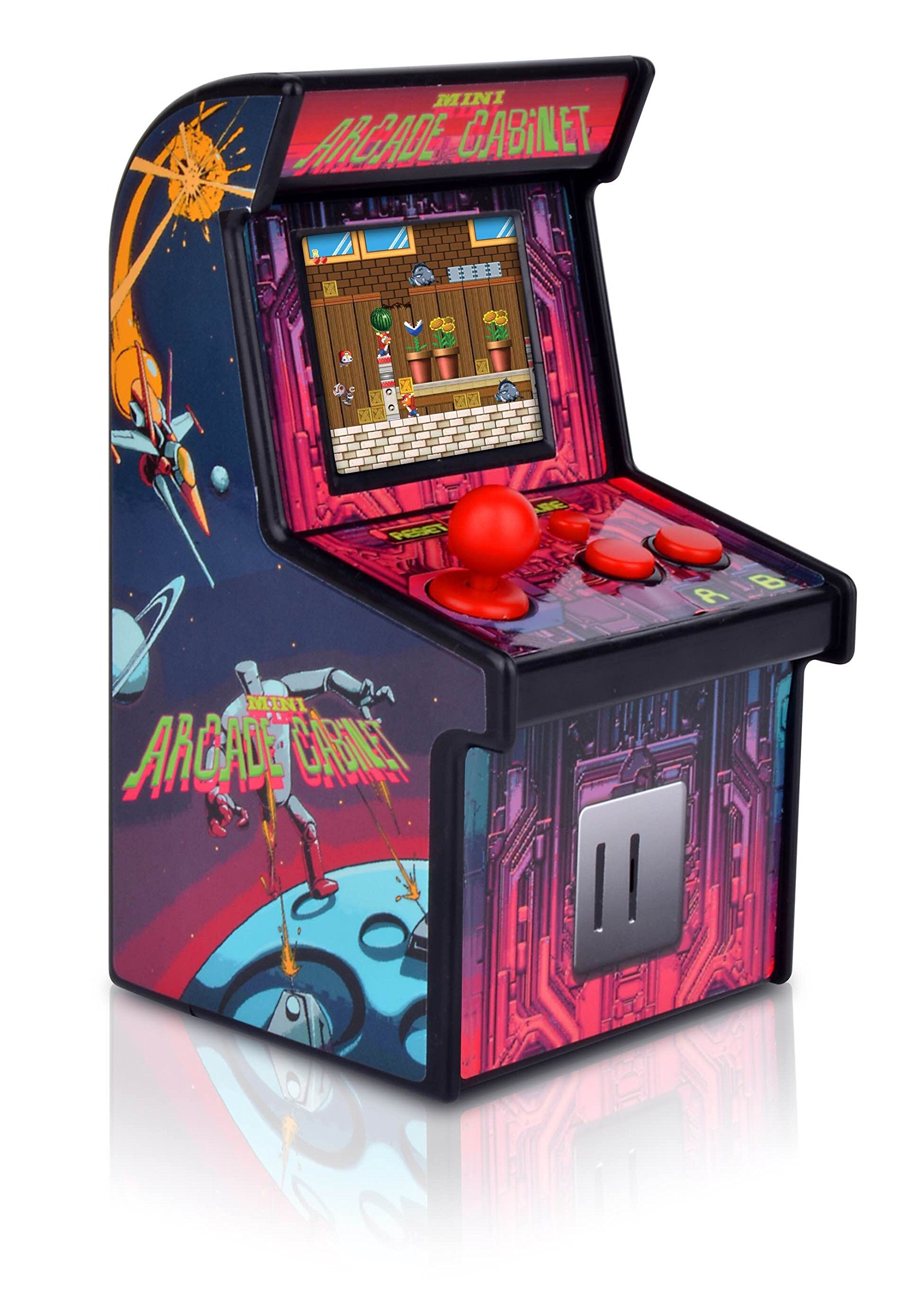 Yuntab Mini Retro Arcade Machine Handheld Gaming System with 200 Built-in Video Games for Kids