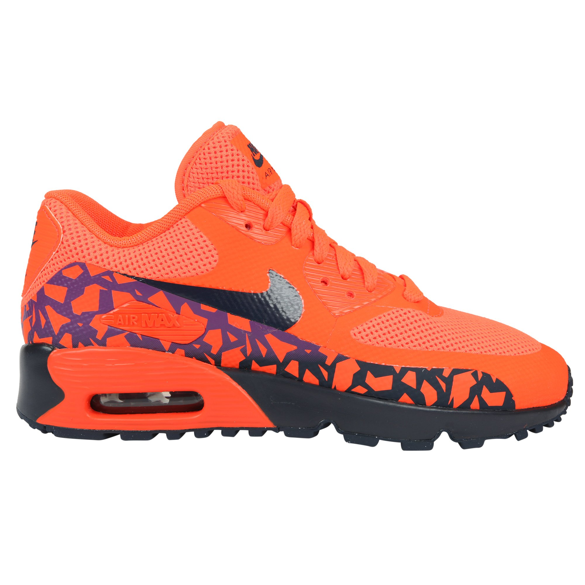 new styles 522c2 ce915 NIKE Air Max 90 FB SE (GS) Running Trainers 852819 Sneakers Shoes (7 M US  Big Kid, Orange 800)