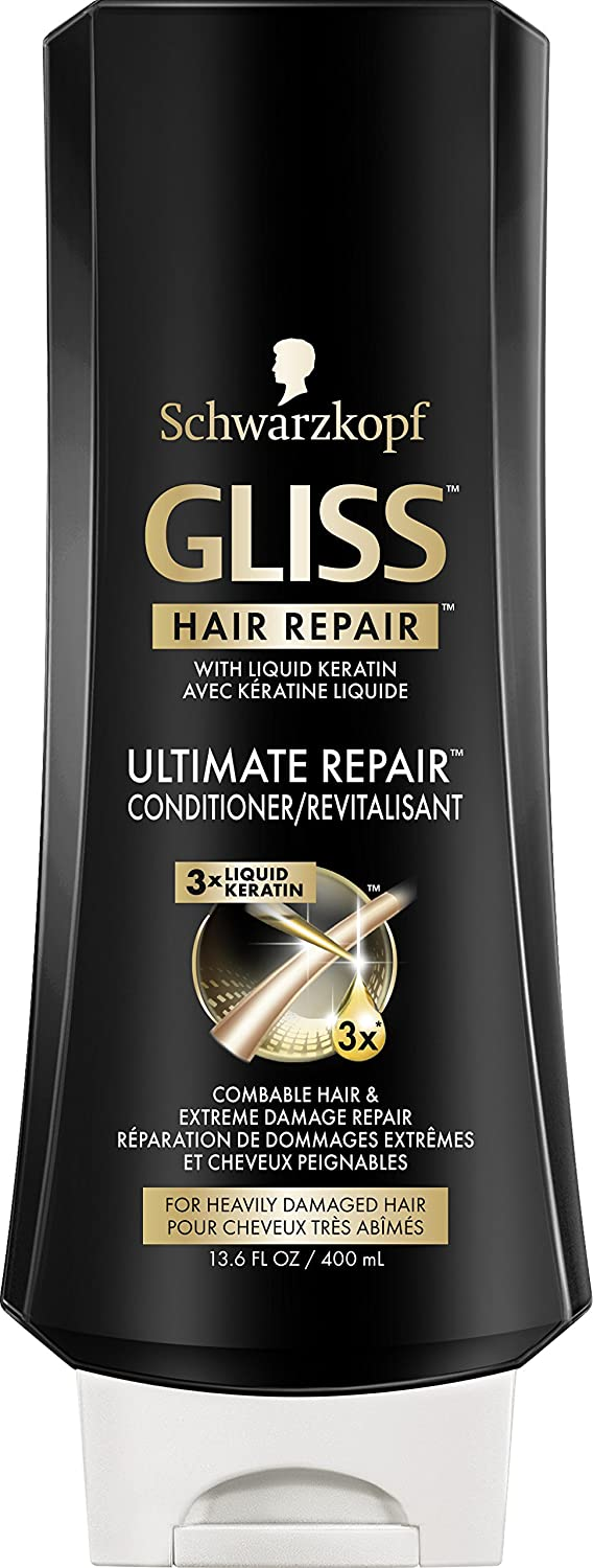 Schwarzkopf GLISS Ultimate Repair Conditioner, 400ml (2106610) Henkel Canada