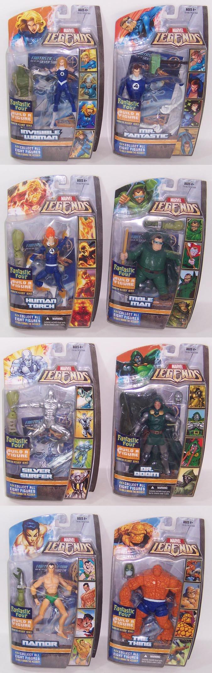 Marvel Legends Fantastic Four Build A Figure Invisible Woman Ronan The Accuser Series