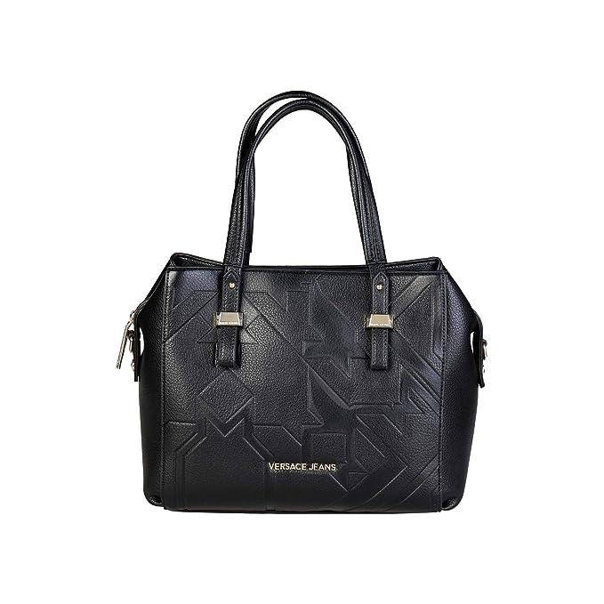 72bef19d9f395 Versace Jeans E1VQBBZ6 75473 Damen Handtaschen Leder Schwarz  Amazon ...