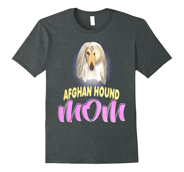 Afghan Hound Dog Breed mom-Art
