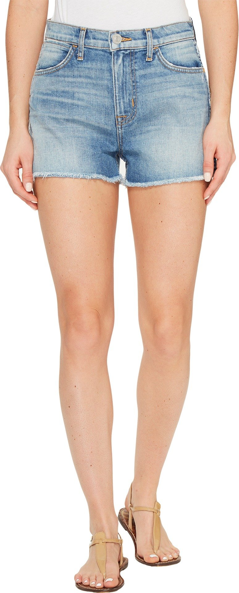 Hudson Jeans Women's Soko High Rise Cut Off 5-Pocket Short, Endurance, 26