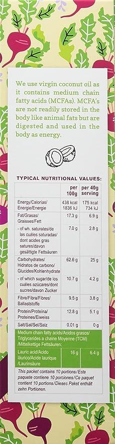 Primroses Kitchen Muesli de Avena Sin Gluten con Remolacha - 2 Paquetes de 400 gr - Total 800 gr: Amazon.es: Alimentación y bebidas
