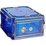 Bel-Art Secador Blue 1.0 Vertical Desiccator Cabinet with Clear Door; 0.7 cu.