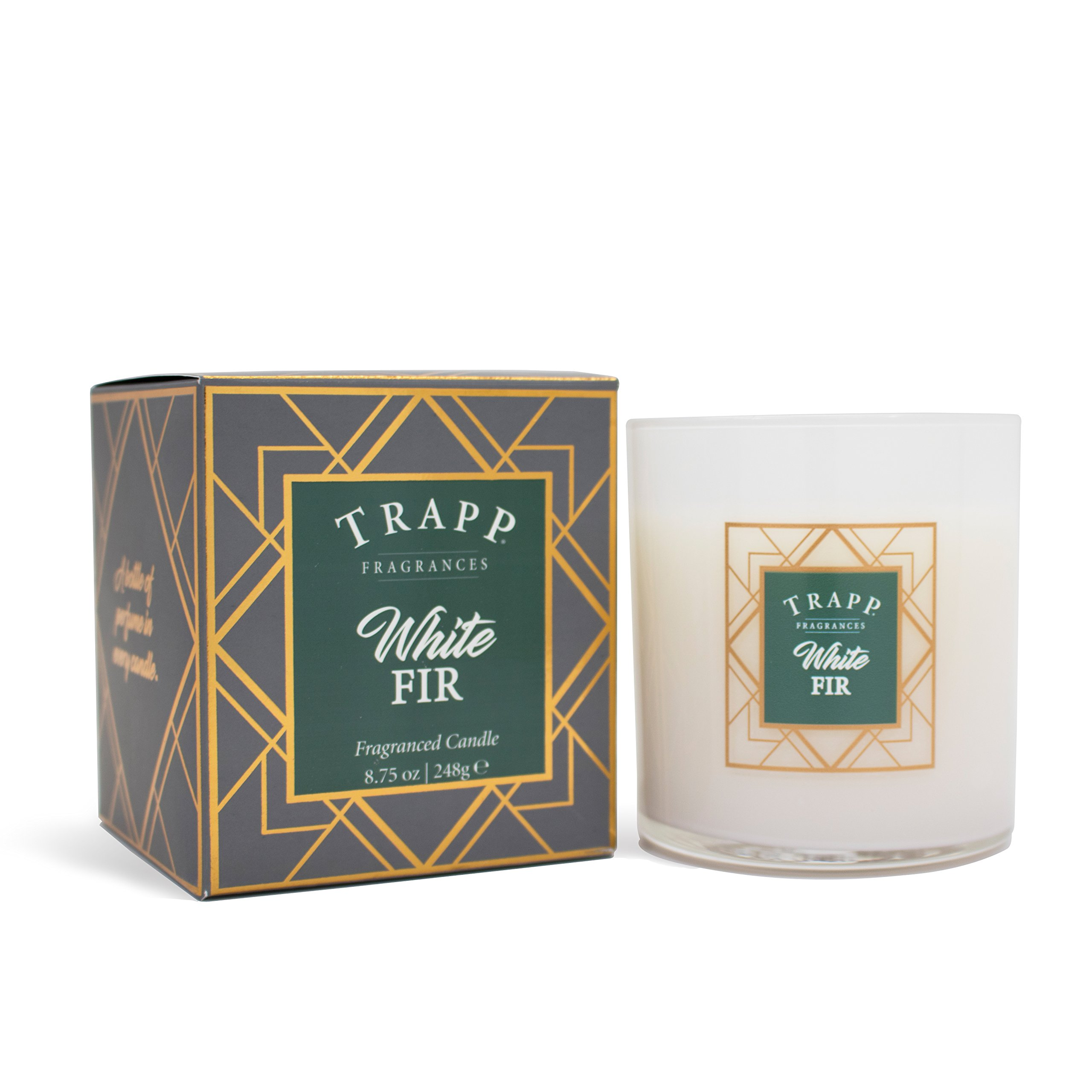 Trapp Seasonal Collection White Fir Poured Scented Candle, 8.75-Ounce by Trapp