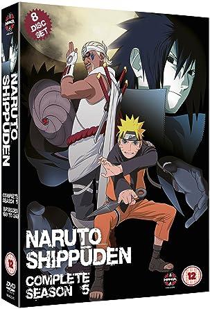 Naruto Shippuden Complete Series 5 Box Set Episodes 193-244