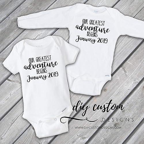d2887949db53 Amazon.com  Baby Announcement Onesies®