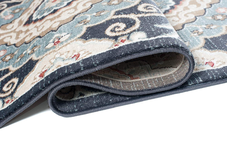 Carpeto Rugs Teppich Orientalisch Orientalisch Orientalisch Rot Wohnzimmer Esszimmer 140 x 200 cm M B07M8LPGF2 Teppiche 7af69c