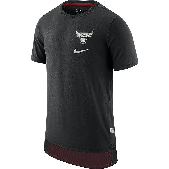 Nike NBA Chicago Bulls Michael Jordan 23 Zach LaVine 8 2017 2018 Mesh Drop tee Official