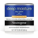 Neutrogena Deep Moisture Cream SPF 20, 2.25 Ounce (Pack of 3)