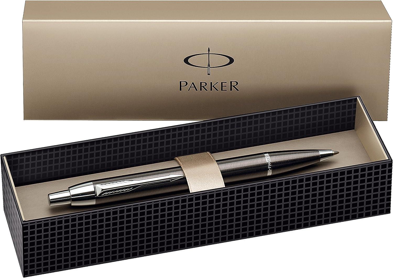 Farbe aus Metall 10 schlanke Kugelschreiber grau