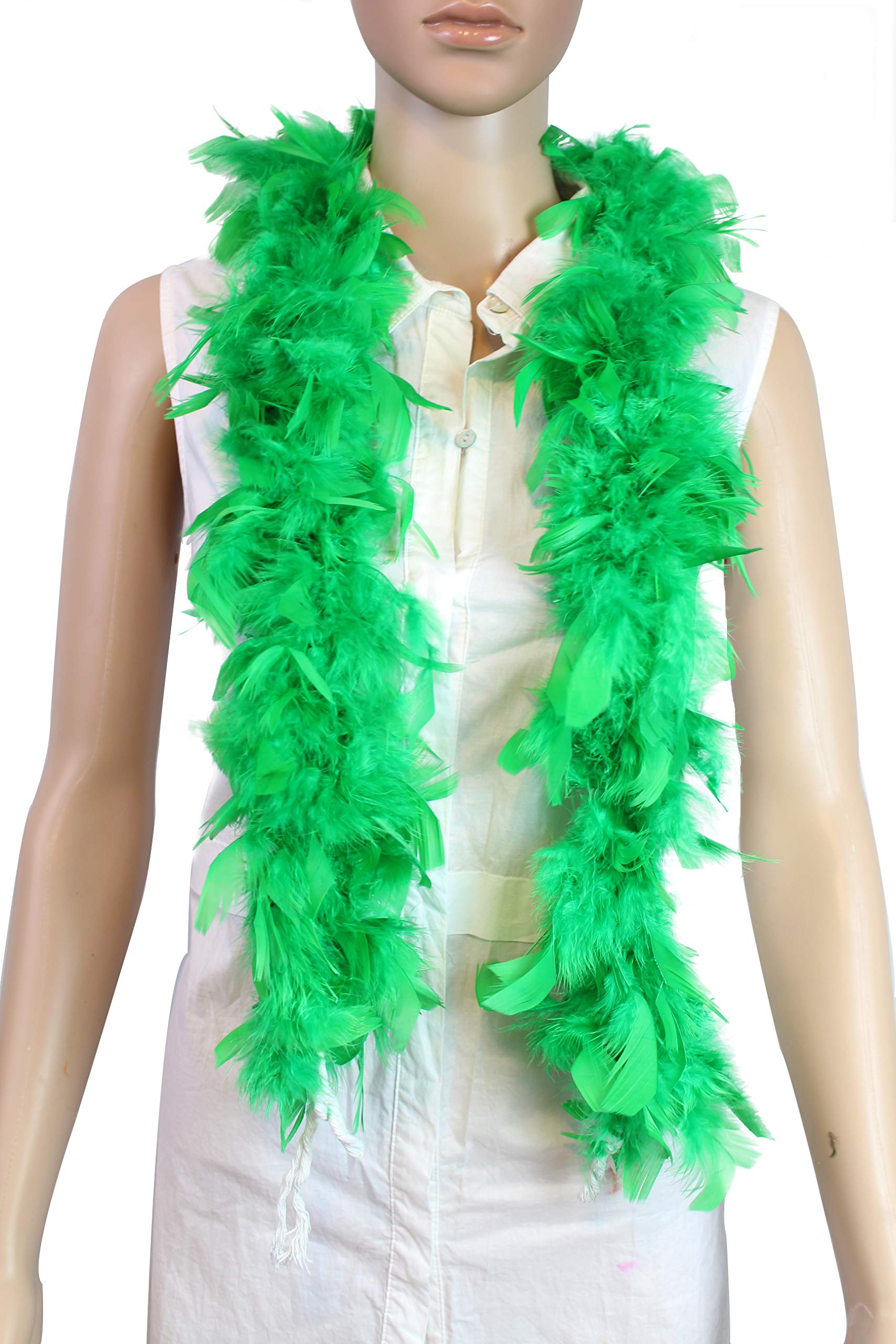 Wedding Great for Party Turquoise 25 Gram 4 Feet Long Chandelle Feather Boa