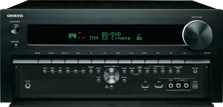 amazon com onkyo tx nr809 thx certified 7 2 channel network a v rh amazon com