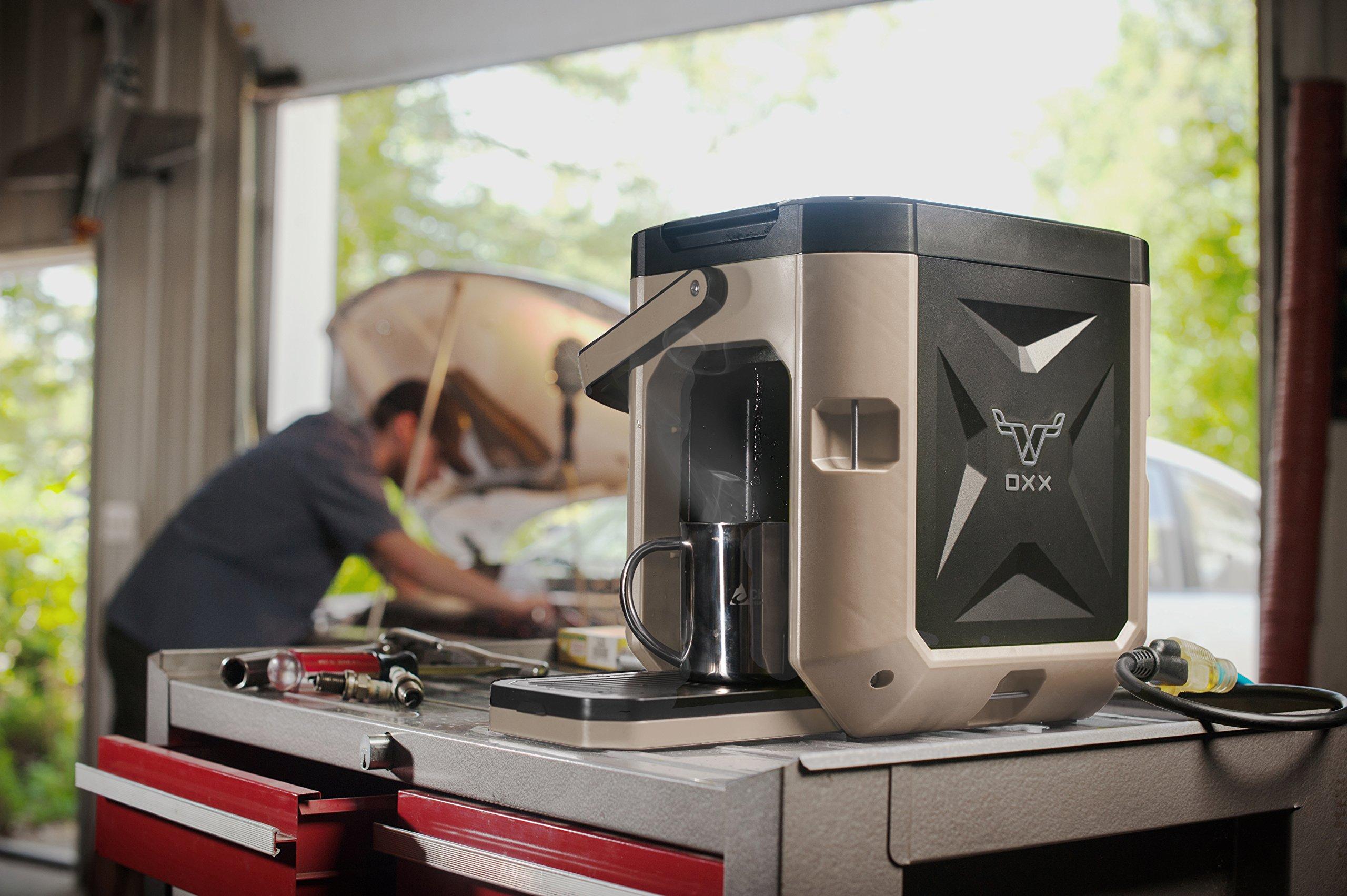 OXX COFFEEBOXX Job Site Single Serve Coffee Maker, Desert Tan by Oxx Inc (Image #7)