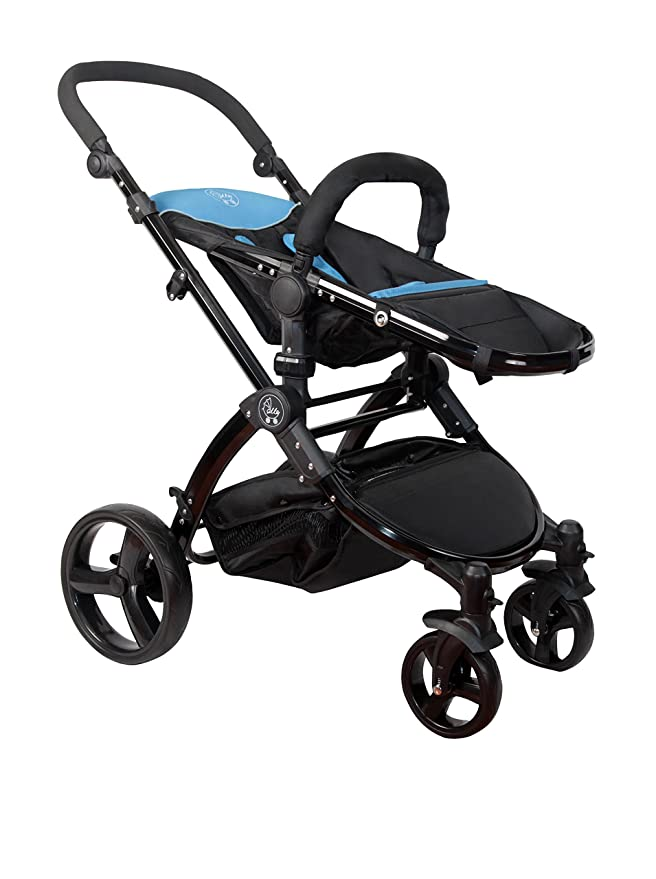 Amazon Com Elle Baby Travel System Blue Toys Games