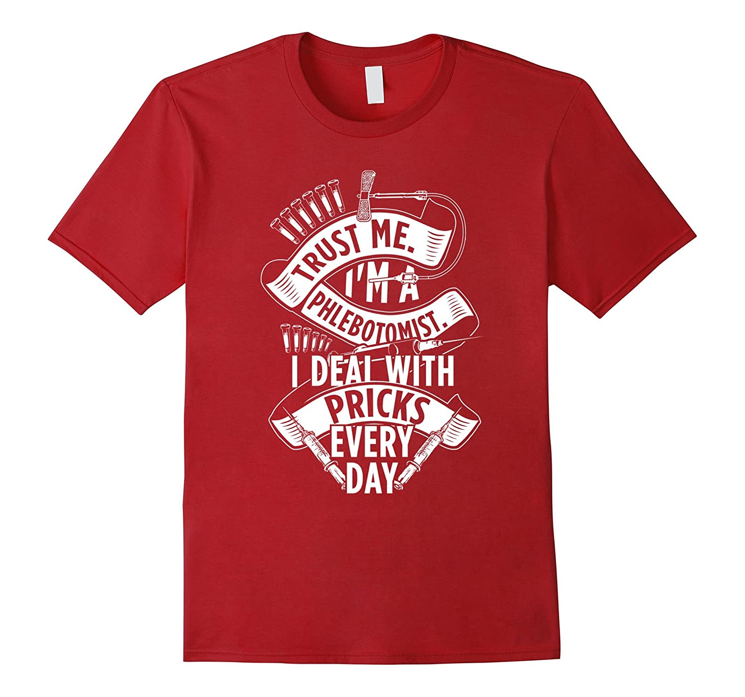 Funny Phlebotomy Shirt for Phlebotomists-TH