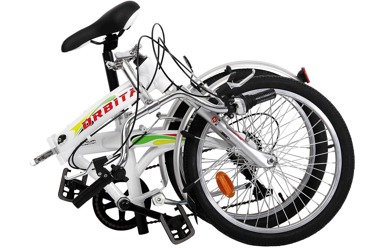 Bicicleta Plegable Orbita Articulada 7v Aluminio: Amazon.es: Deportes y aire libre