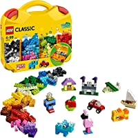 Lego 10713 Classic Creative Suitcase, Toy Storage, Fun Colourful Building Bricks for Kids