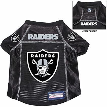 92528b9f0 Image Unavailable. Image not available for. Color  Oakland Raiders Pet Dog  Football Jersey ...
