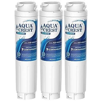 AQUACREST 644845 Filtros de agua para frigorífico, Compatible con ...
