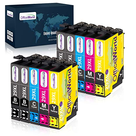 OfficeWorld 29 29 XL Cartuchos de Tinta para Epson 29XL Compatible ...