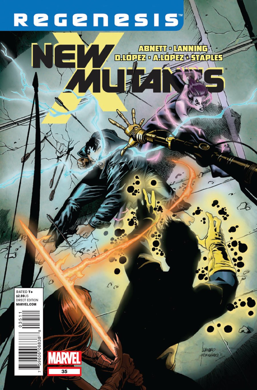 """Read Online New Mutants #35 """"X-men Regenesis on a Mission to Track Down the Runaway Mutant Known As Blink the Team Runs Smack Into Chaotic Forces Summoned By a Band of Death Metal Rockers"""" pdf epub"""