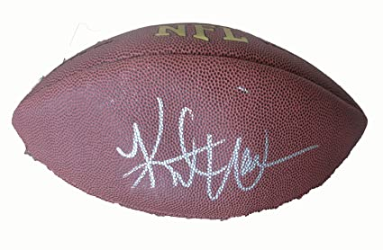best loved bbaed 773f6 Kurt Warner Autographed Wilson NFL Football W/PROOF, Picture ...