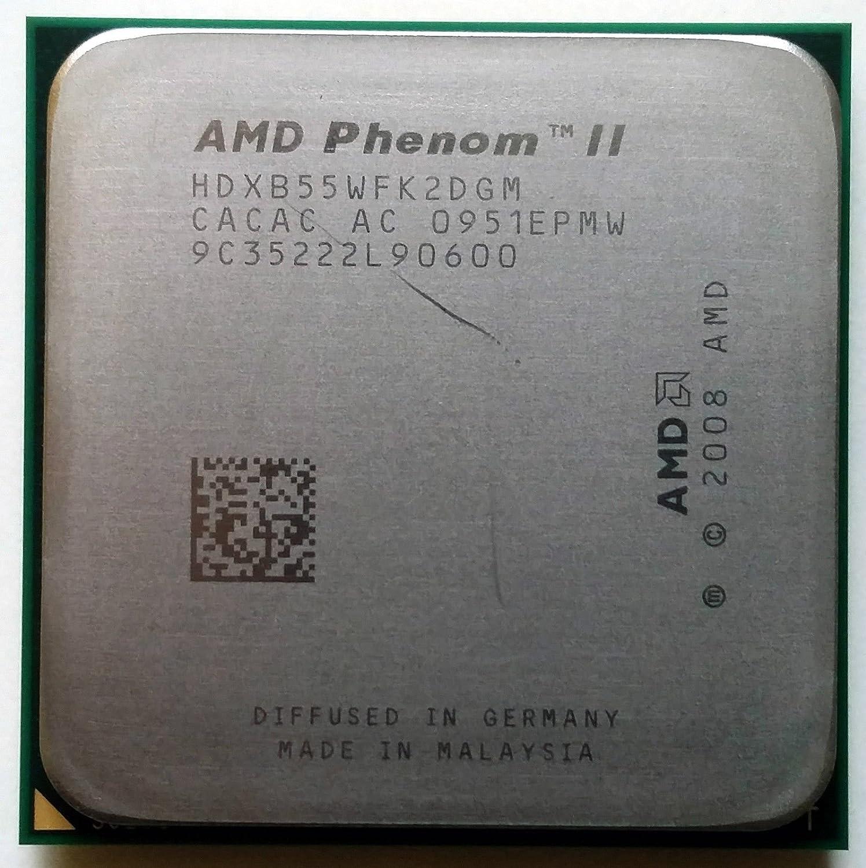 AM3 938-PIN AMD Phenom II X2 B55 3.0GHz Dual-core HDXB55WFK2DGM CPU Processor Socket AM2