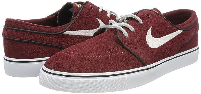 Nike Men's Zoom Stefan Janoski Og Red EarthWhite Black Skate Shoe (8.5)