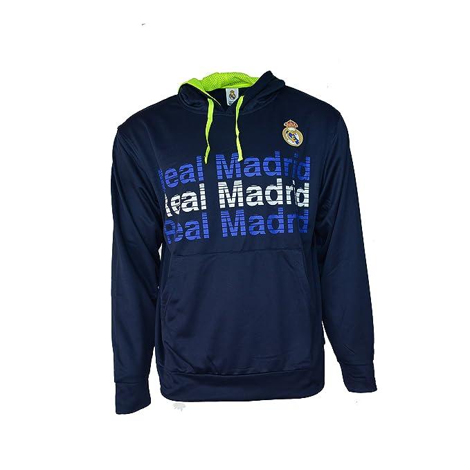 Amazon.com: Real Madrid sudadera con capucha forro polar ...