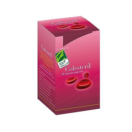 100% natural Colesteril Suplemento de Hierbas - 90 Cápsulas