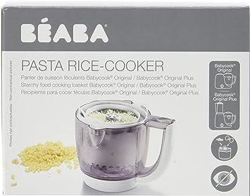 Béaba Babycook Original Duo Cuiseur de Pasta/Riz, white: Amazon.es ...