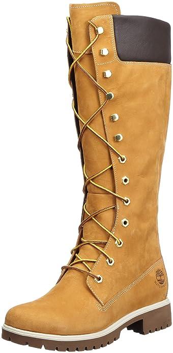96044f11a9fdd6 Timberland Women's 14 Inch Premium WP Knee-High Boot: Amazon.ca ...