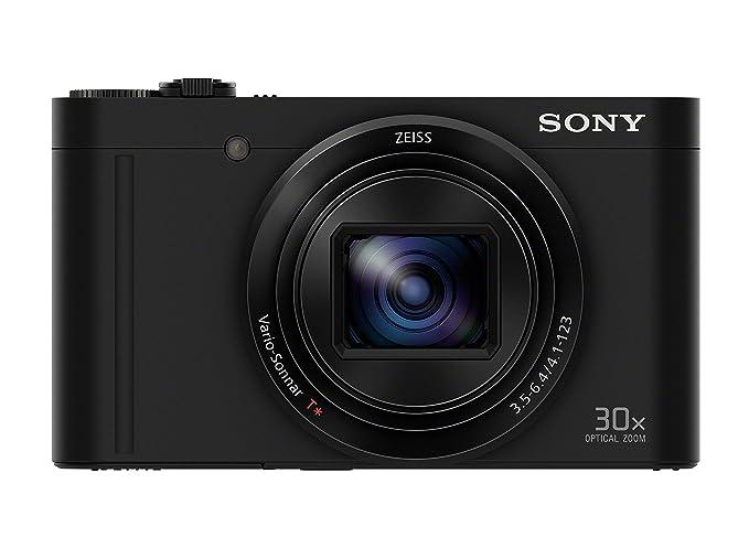 Sony Cybershot DSC WX500/B 18.2MP Digital Camera  Black  Point   Shoot Digital Cameras