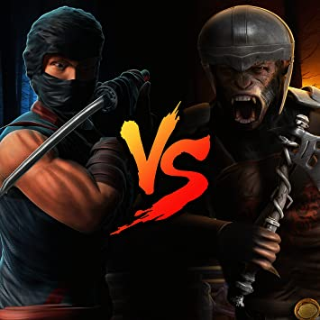 Amazon.com: Ninja VS Apes Ninja Survival Game of Warrior ...
