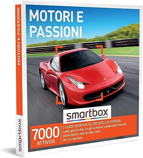 Smartbox supercar esperienza di guida sportiva per 1 o 2 persone 849357