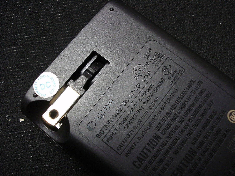 Canon Lc E12 Charger For Lp Li Ion Battery Batre E8 Untuk Tipe Kamera Eos 550d 600d 700d Compatible With M M2 M10 Rebel Sl1 100d Mirrorless Digital 2