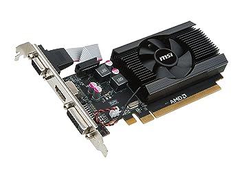 MSI V809-2847R - Tarjeta gráfica (Radeon R7 240, 2 GB, GDDR3 ...