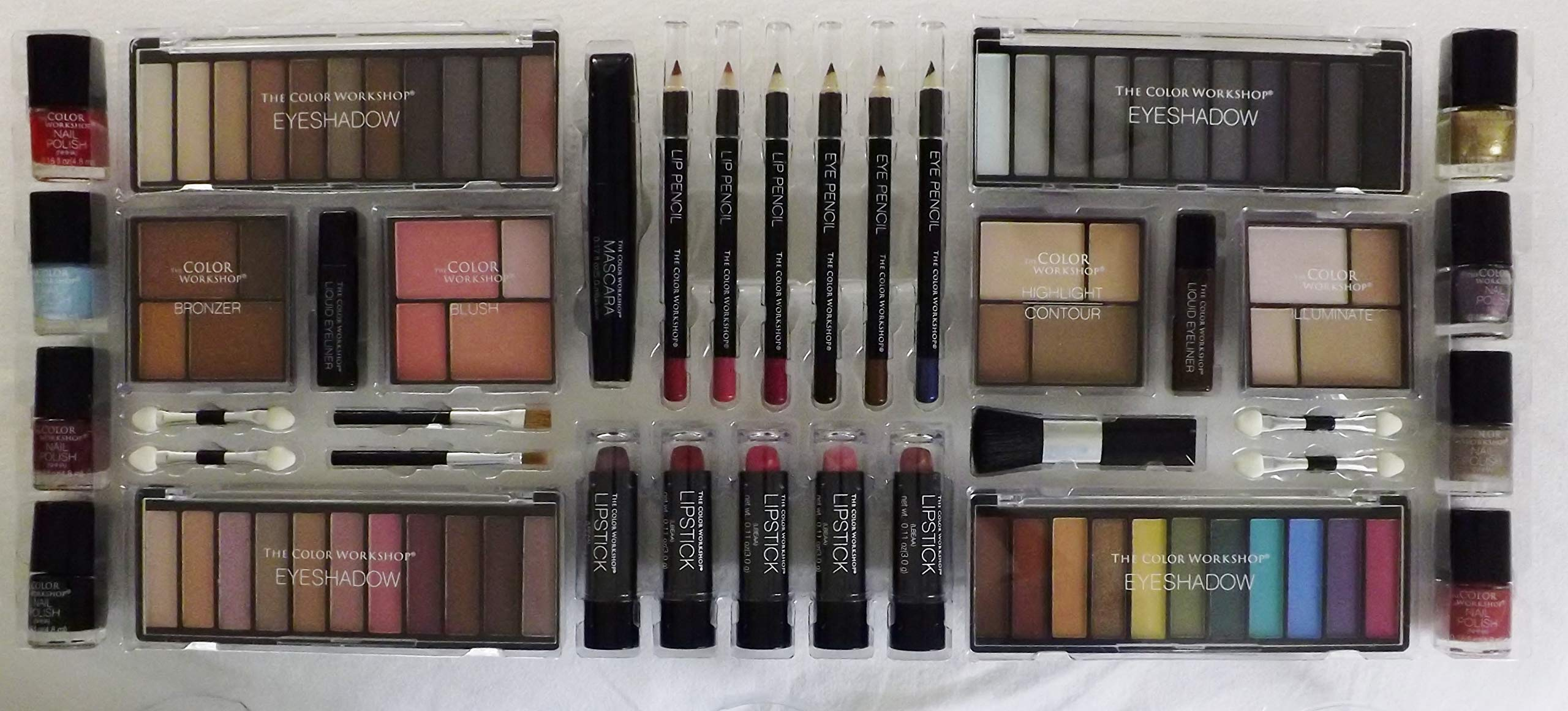 The Color Workshop''Ultimate Color Blockbuster'' 89 Piece Makeup Collection by The Color Workshop