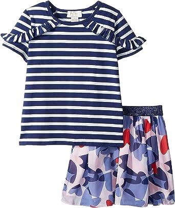 a2862a808 Amazon.com: Kate Spade New York Kids Baby Girl's Confetti Hearts Skirt Set  (Toddler/Little Kids) Confetti Hearts 4 US Little Kid: Clothing