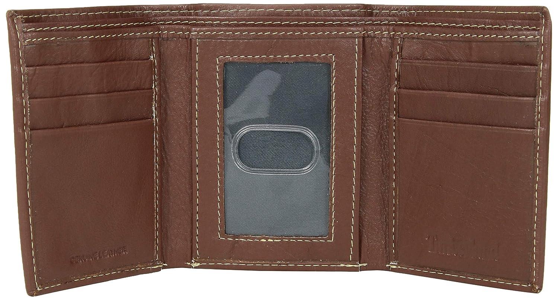 Timberland Hombres exclusiva de Blix Trifold cartera de cuero fino: Amazon.es: Zapatos y complementos